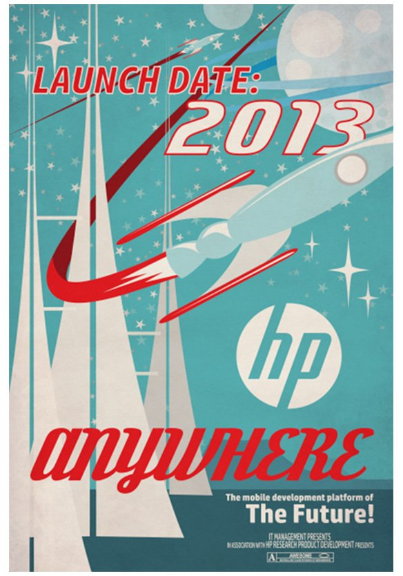 HP Anywhere Poster