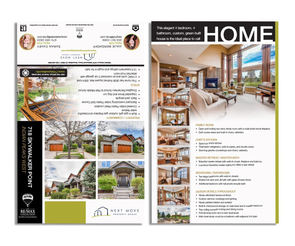 Castle Rock Brochure Design