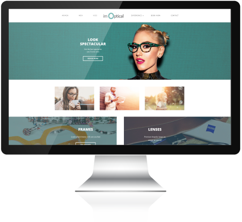 IM Optical Wordpress Site