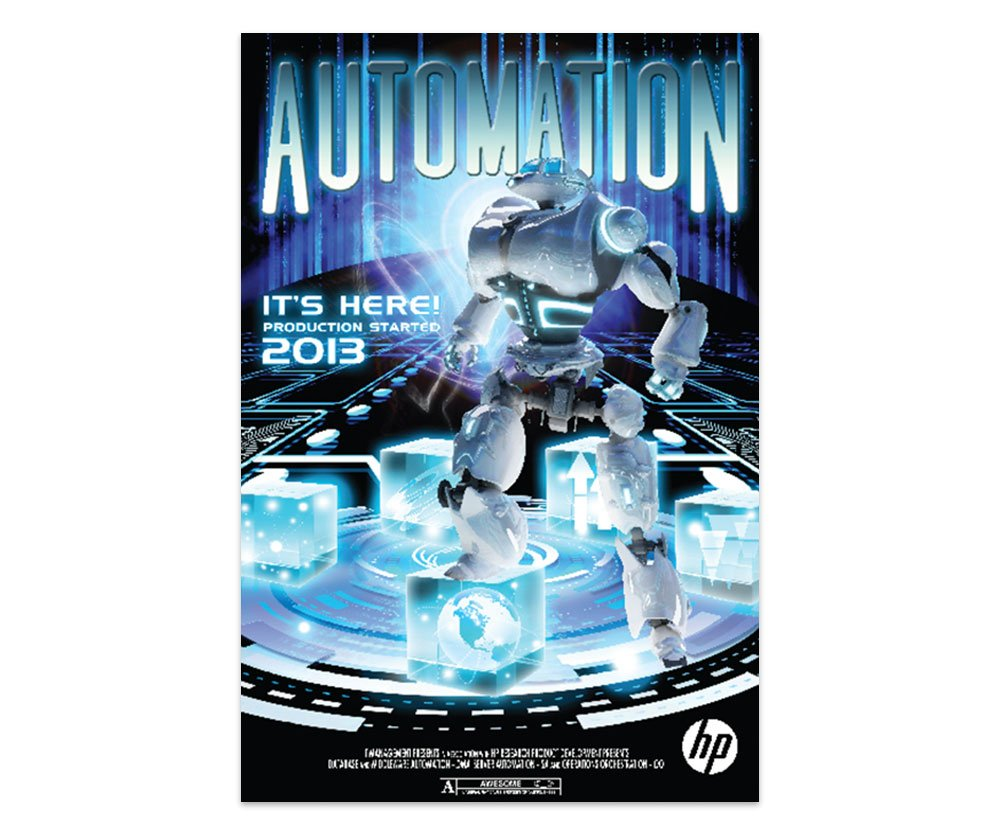 HP Automation Poster