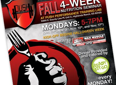 PUSH Gym Poster