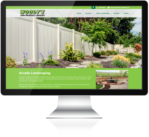 Woody's Landscape Website