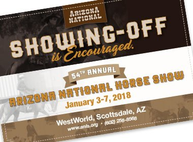 Arizona National Horse Show Postcard