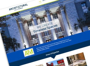 Architectural Tile & Marble Website