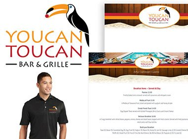 Youcan Toucan Bar & Grille Web Design