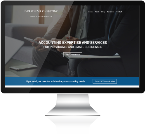Brooks Consulting Wordpress Website