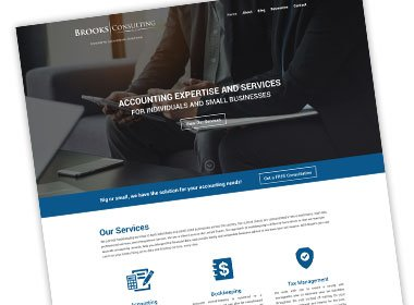 Brooks Consulting Website