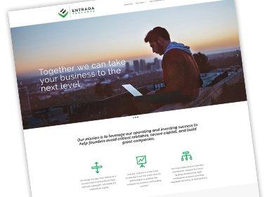 Entrada Ventures Website