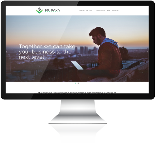 Entrada Ventures Wordpress Website